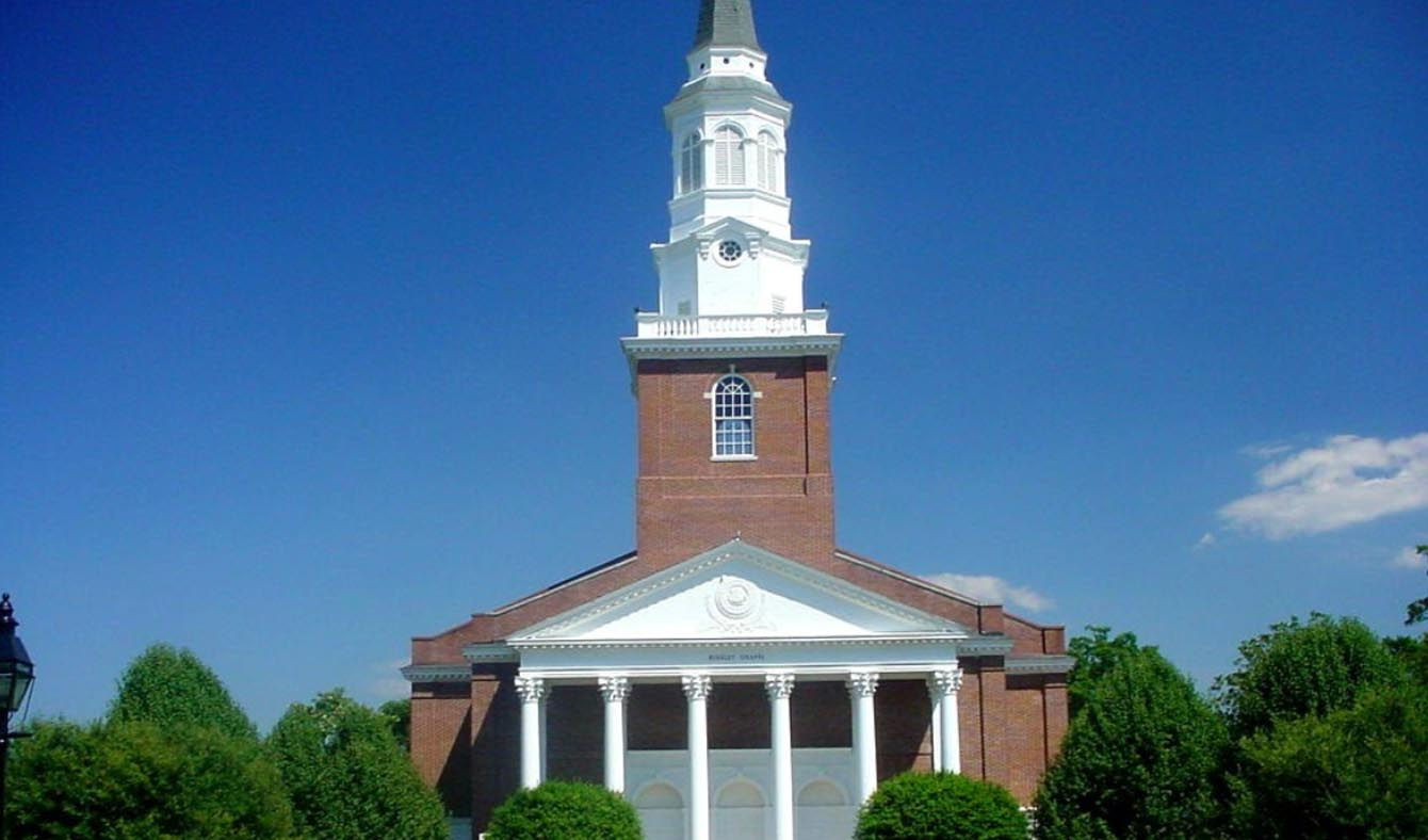 chapel in wake forest