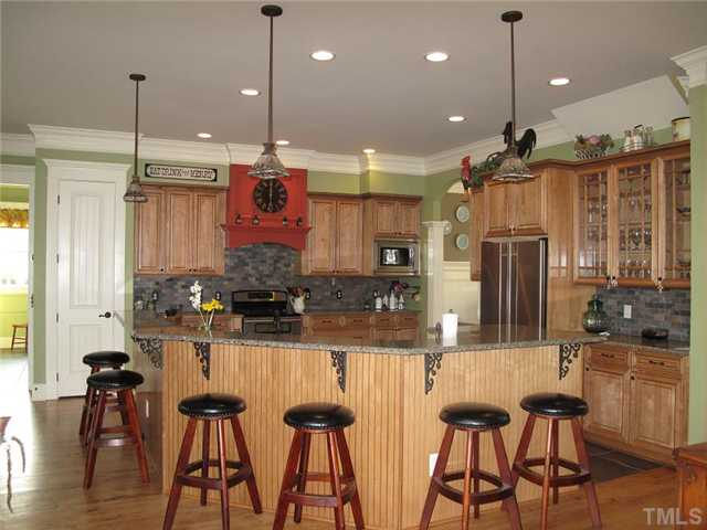 kitchen in Raleigh home