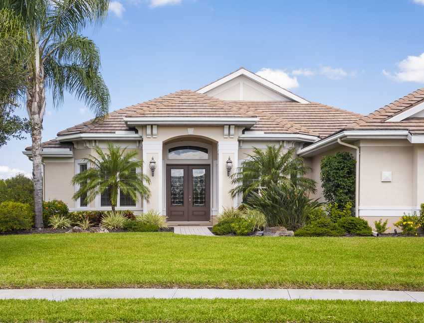 buy real estate in Sarasota, FL such as this large home