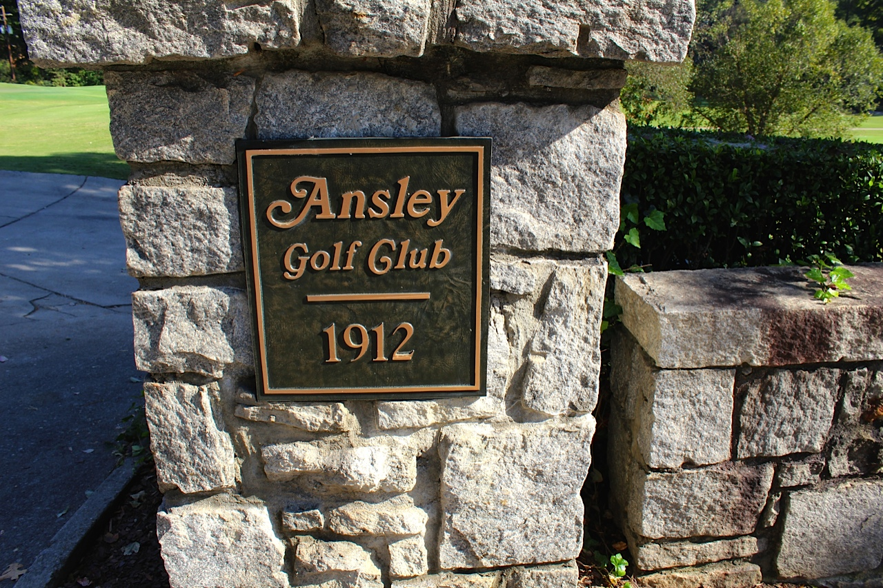 Map Of Ansley Park Atlanta