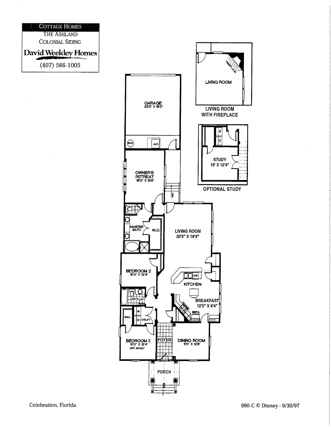 ashland colonial floorplan
