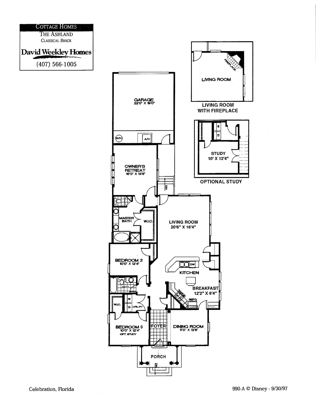 ashland floorplan