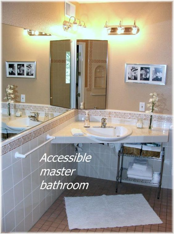 Bathroom Sinks In Phoenix wheelchair accesssible homes in the phoenix area