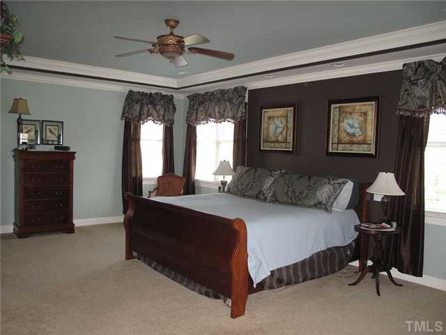 master bedroom without The Results Team staging
