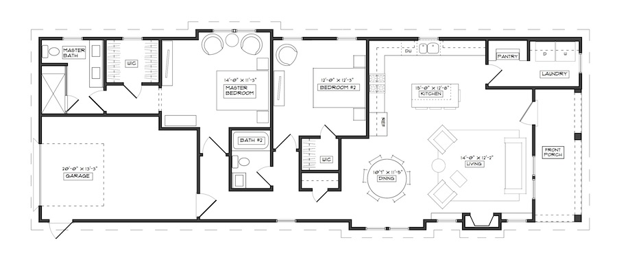 The Azalea Floorplan