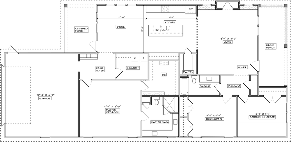 The Umstead Floorplan