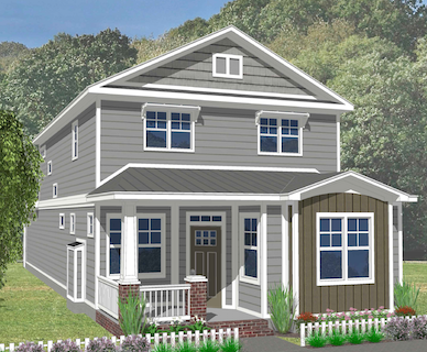 The Gardenia Elevation A
