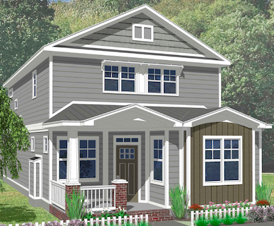 The Gardenia Elevation B