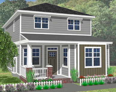 The Gardenia Elevation C