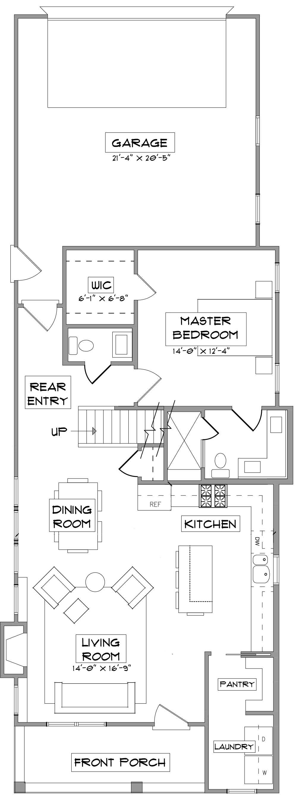 The Rock Rose First Floor Floorplan